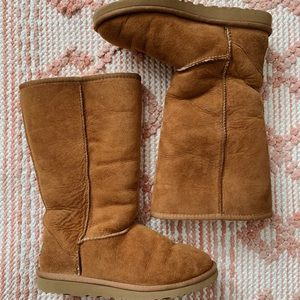 Chestnut UGG Classic Tall Boots